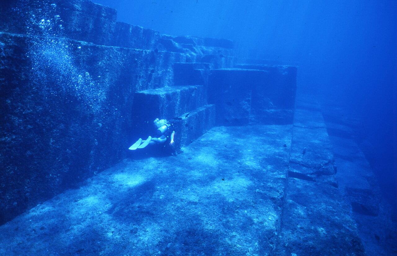 затонувшие города. фото