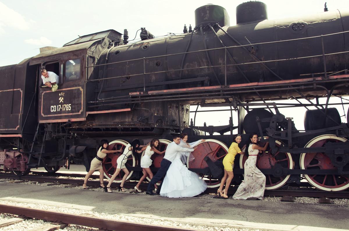 Разгоняем поезд