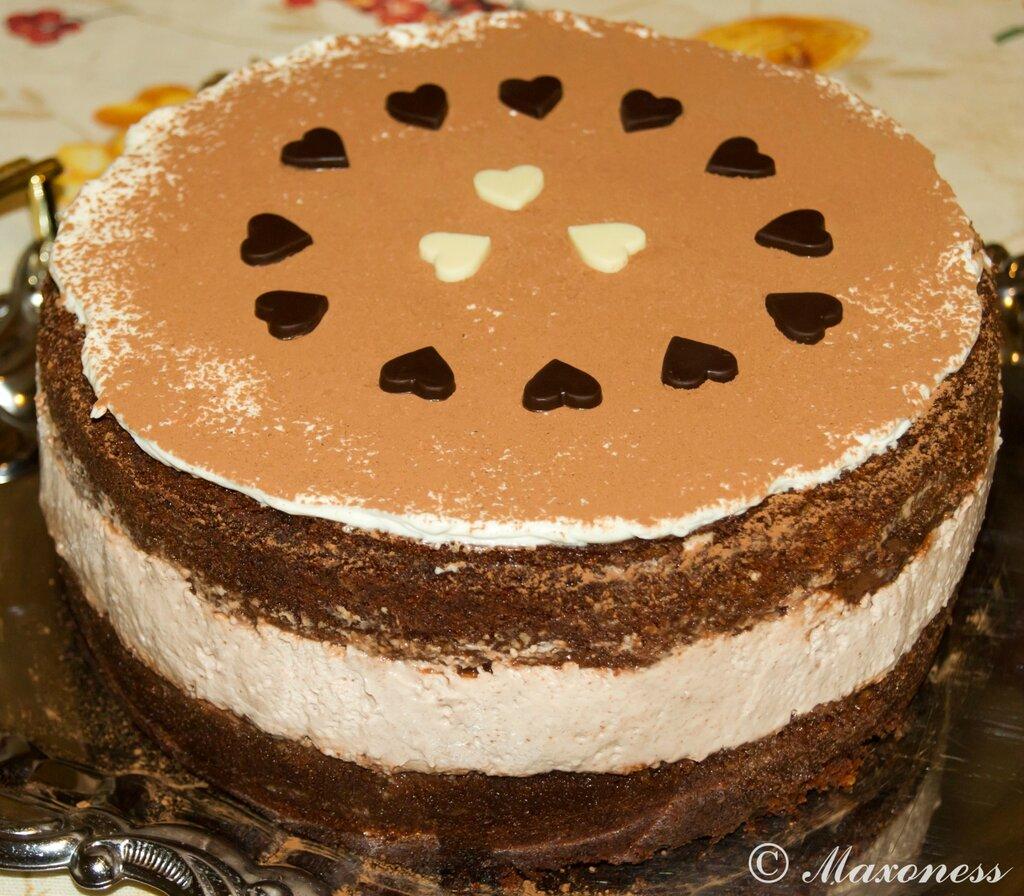 Самый сытный шоколадный торт