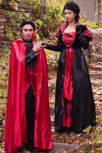 Мужской карнавальный костюм Дракула