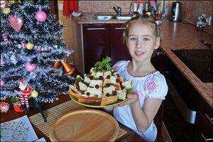 Десерт, приготовленный руками ребёнка