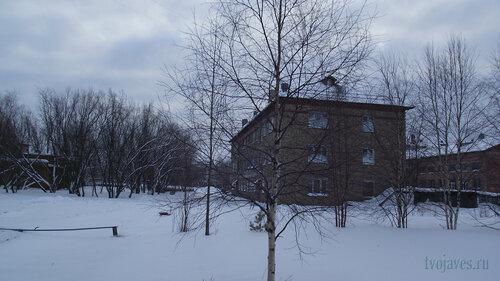 Фото города Инта №2688  Геологическая 4 и Коммунистическая 22 школа №3 31.01.2013_12:58
