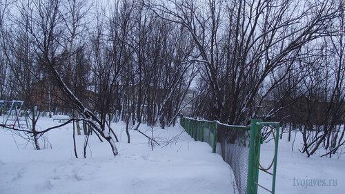 Фото города Инта №2777  Геологическая 4 и Коммунистическая 22 (школа №3) 31.01.2013_13:23