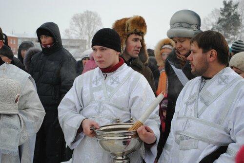 Крещенское купание в Куйбышеве,