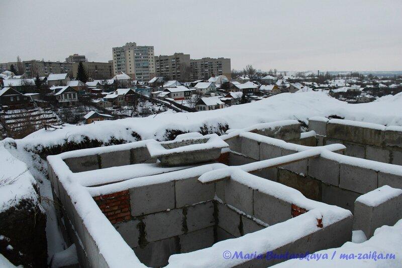 Вишнёвая гора, Саратов, 13  января 2013 года