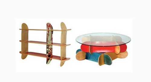 Мебель из скейтбордов3