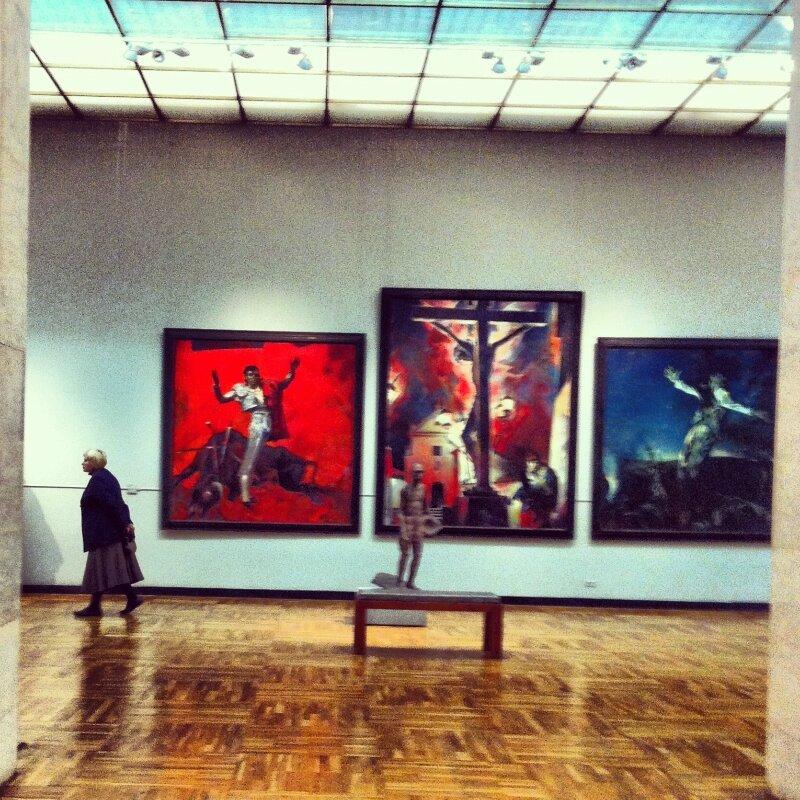 Советское искусство на Крымском валу. ГТГ. Основная экспозиция