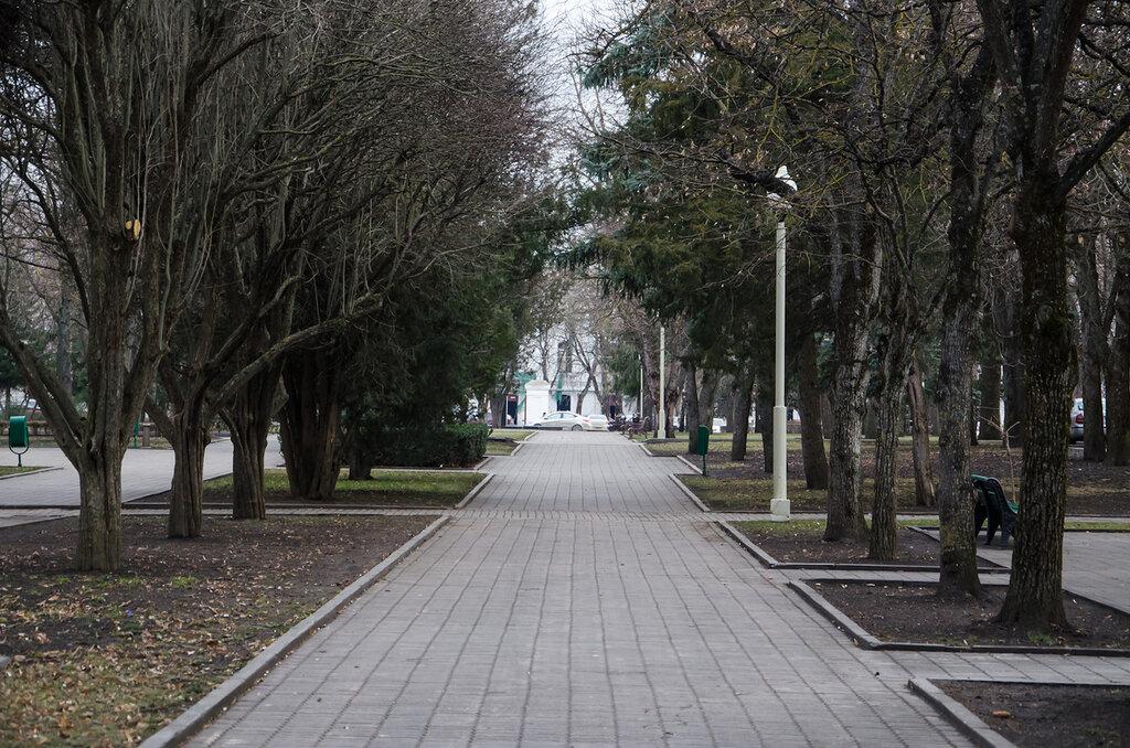 Зима в Ставрополе (25 января 2013)