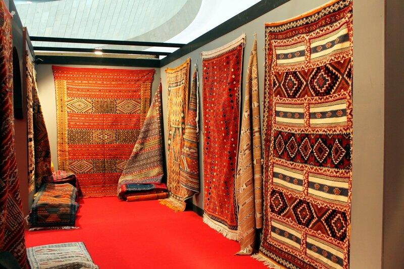 Выставка ковров Марокко