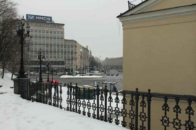 Вид на Европейскую площадь