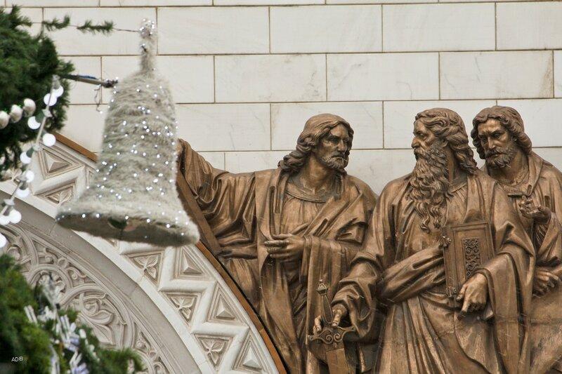 Вокруг Храма Христа Спасителя