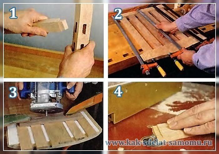 как сделать стул из дерева (2)