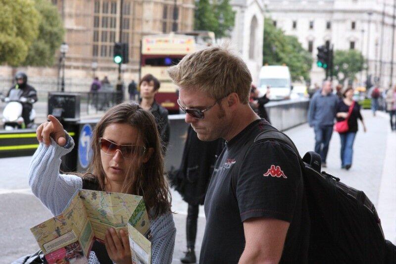 общественный тарнспорт в Лондоне