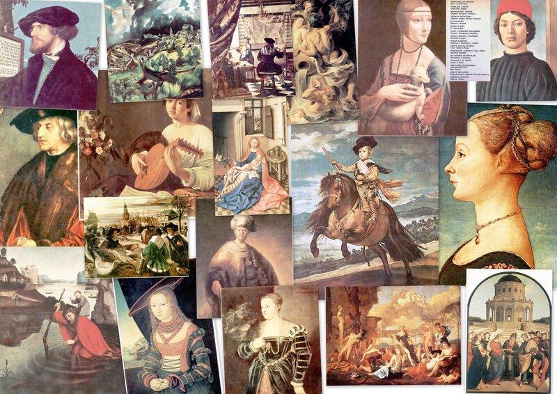 Картины старых мастеров