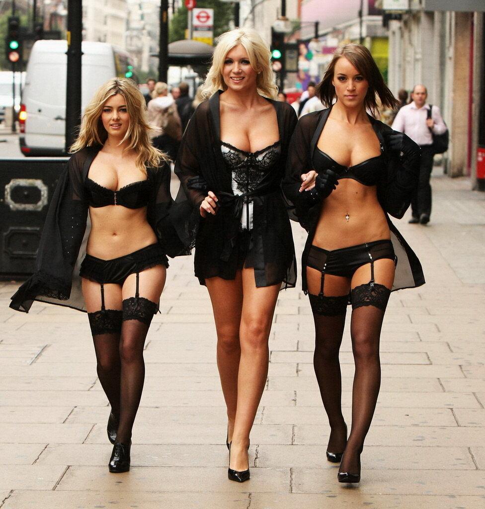 Три девицы - Ledi, Мириама & Gro на гулялке