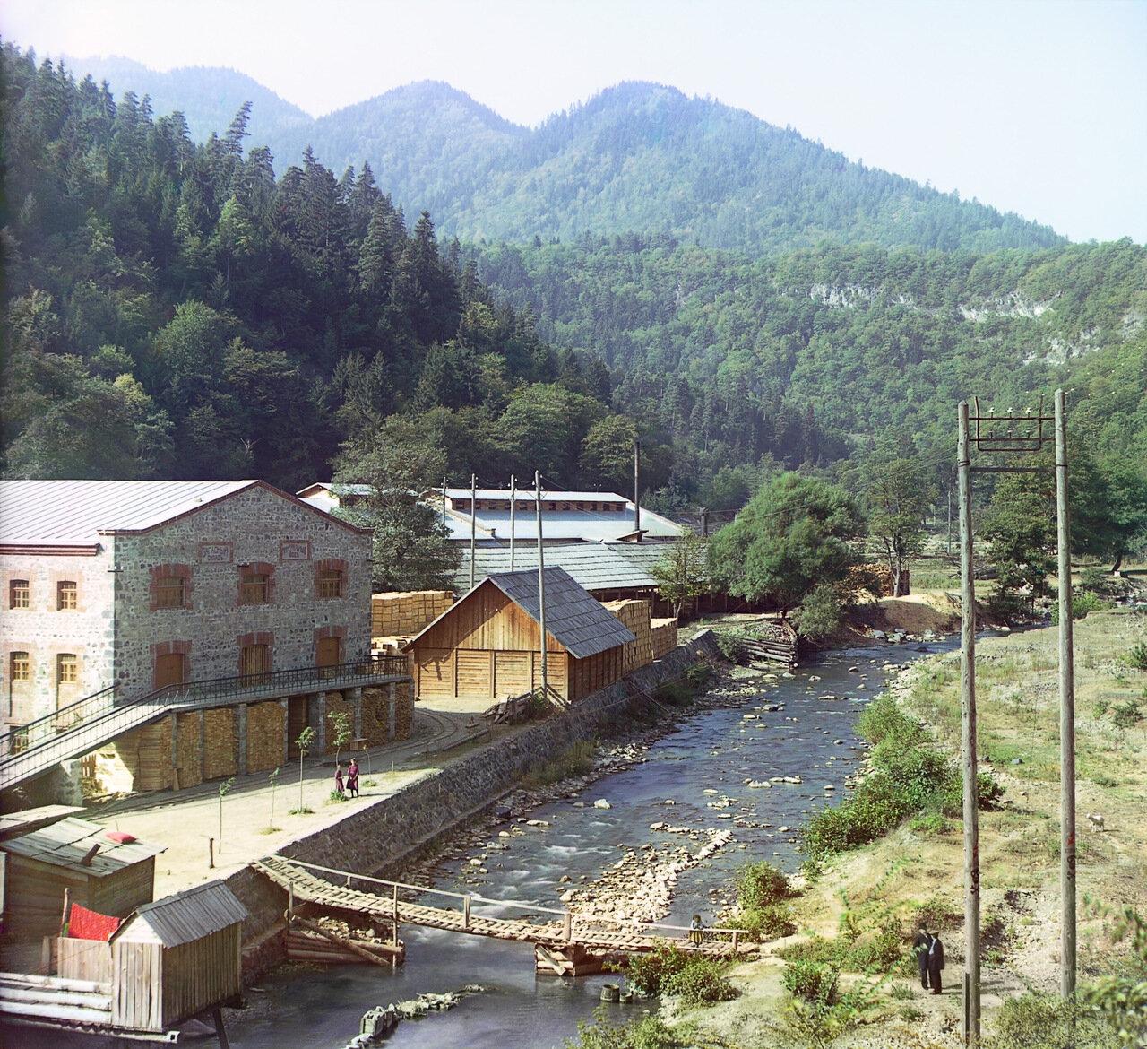 Запасный склад минеральных вод. Боржом