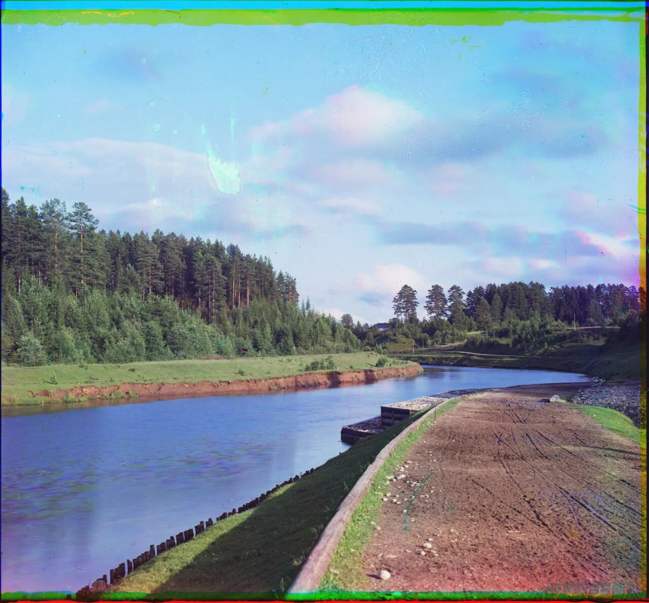 На реке Вытегре. 1909 год.
