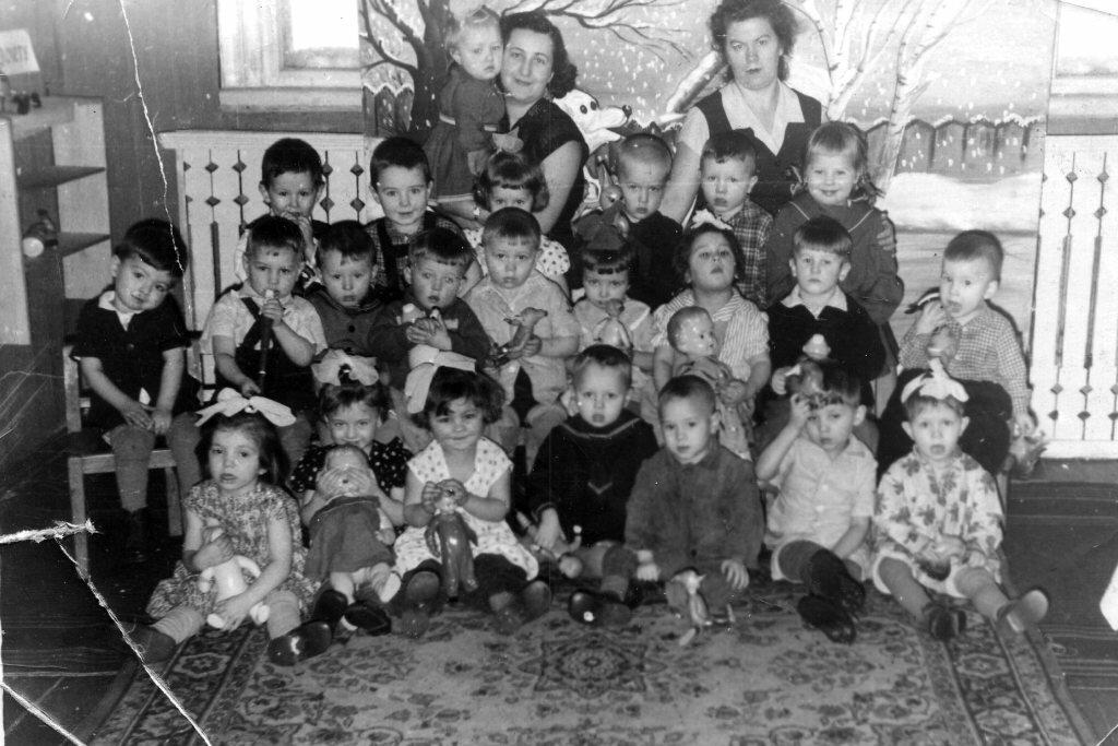 1962-1964.  Детский сад