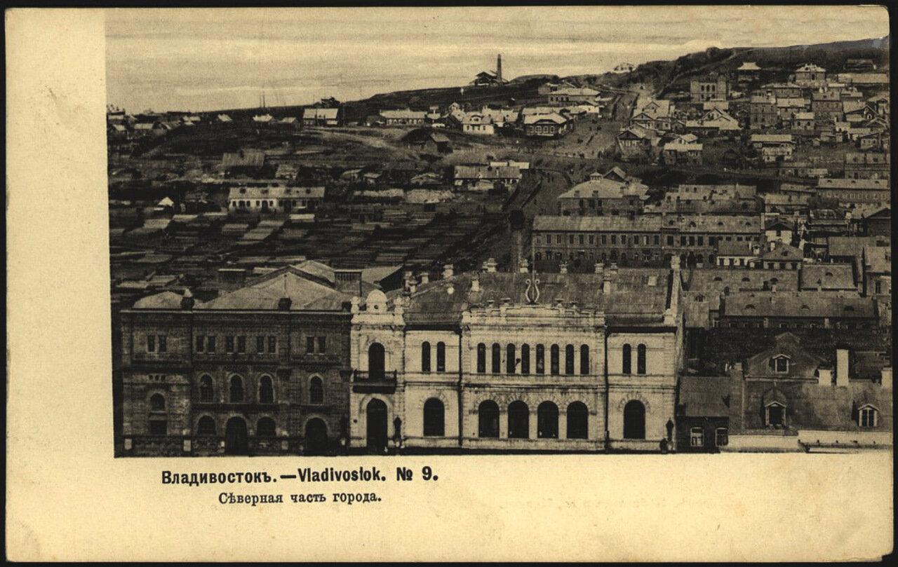 Владивосток. Северная часть города 1904.