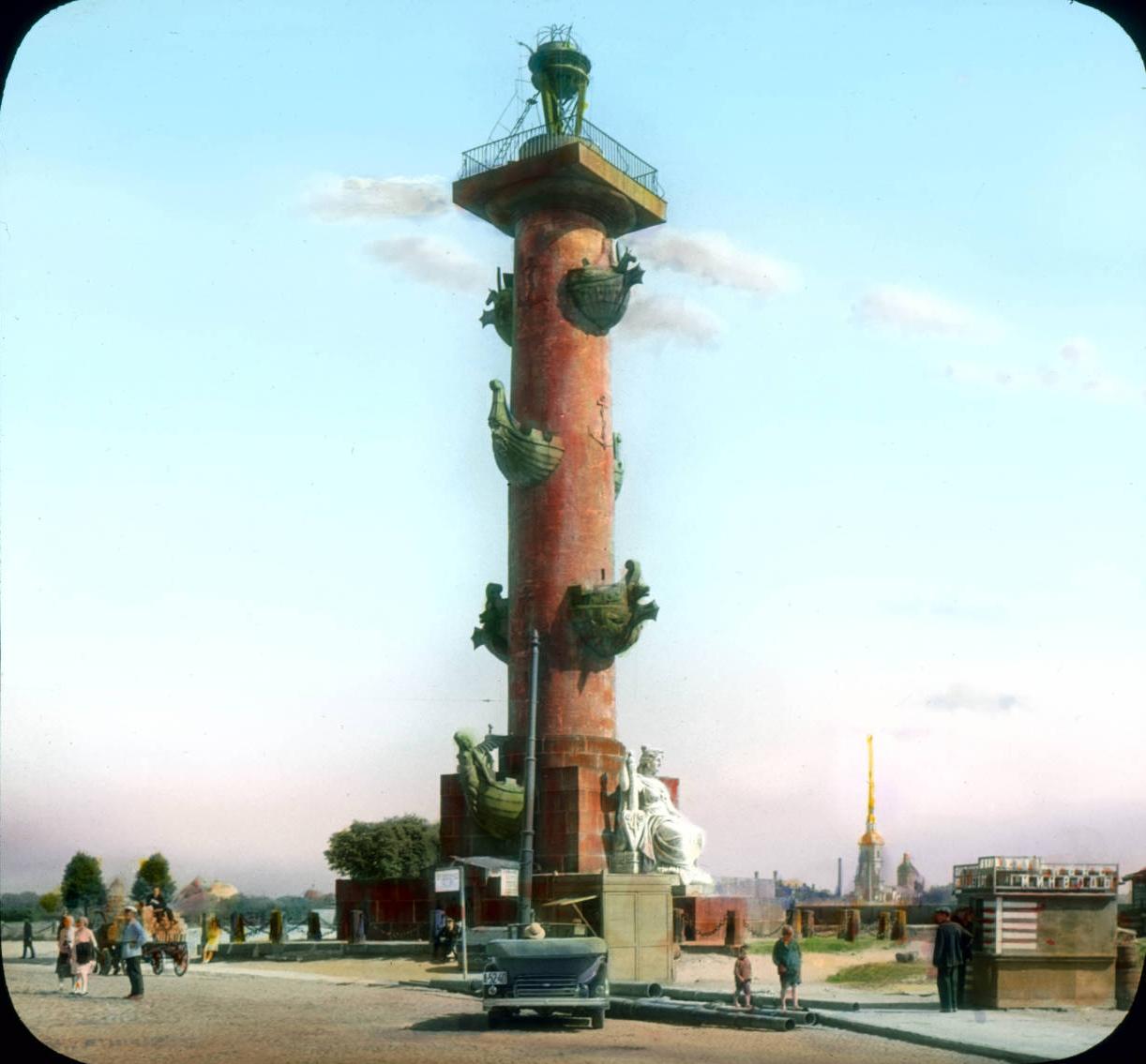 Санкт-Петербург. Ростральная колонна на Васильевском острове