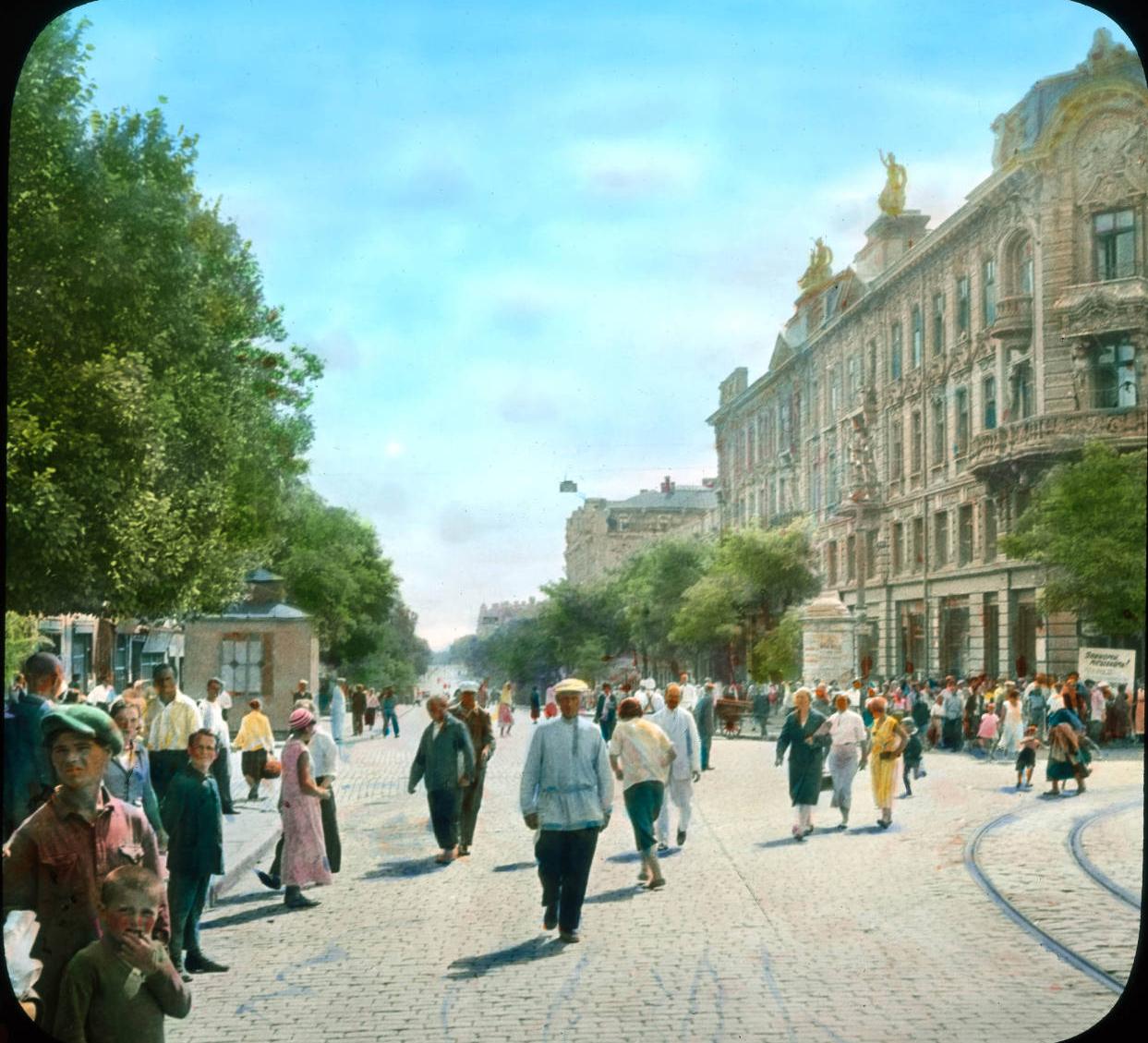 Одесса. На главной улице города