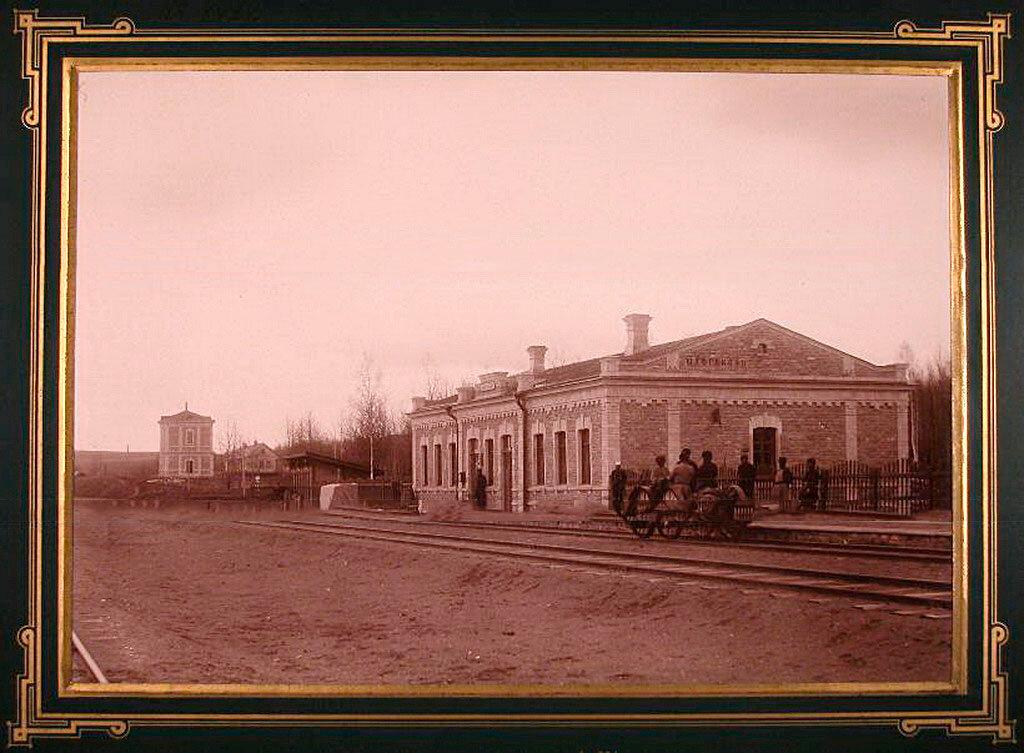 5.Вид на здание станции IV класса Шафраново на 324-й версте
