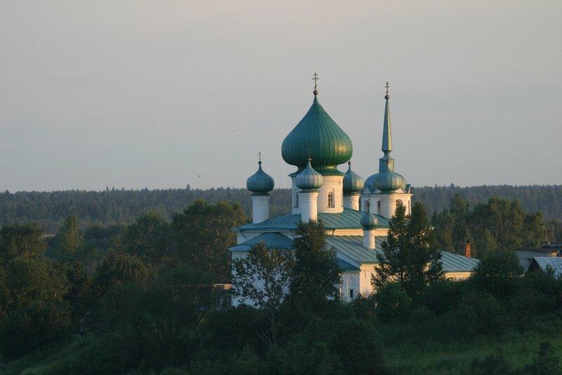 Старая Ладога - Церковь Рождества Иоанна Предтечи