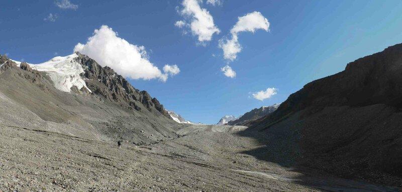 Мельников Сергей, А впереди ледник Восточный Аксу