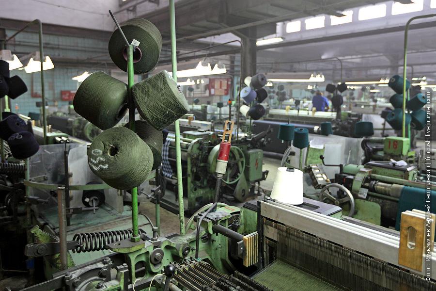 производство полушерстяной ткани