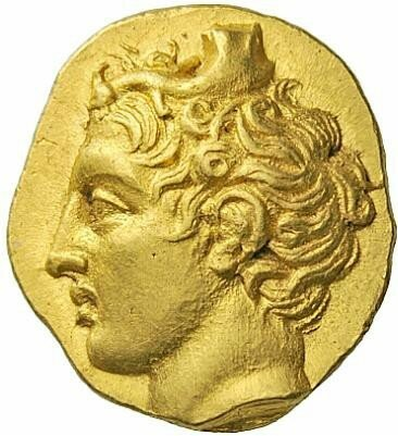 A gold Stater from Lampsakos c. 394-350 BC