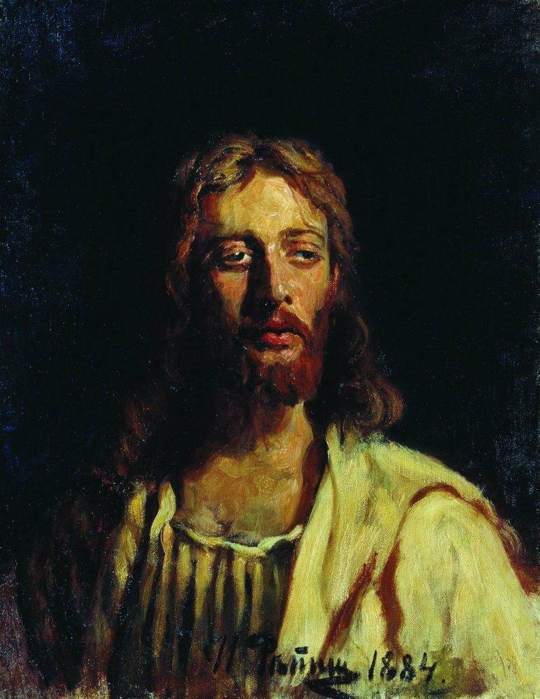 Христос, 1884. Репин Илья Ефимович (1844-1930)