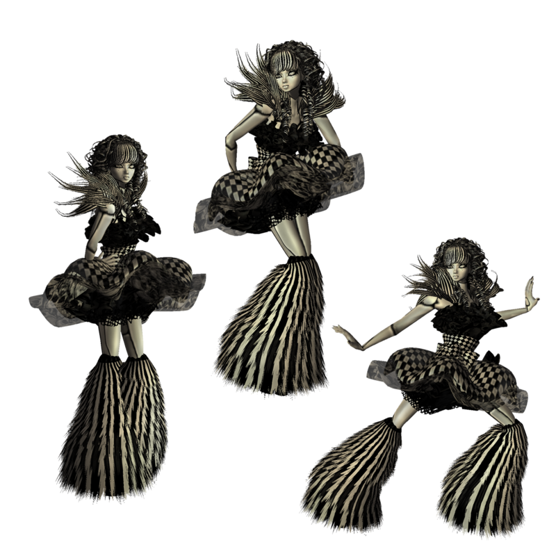 black_and_white_trio_by_catonablade-d417s1b.png