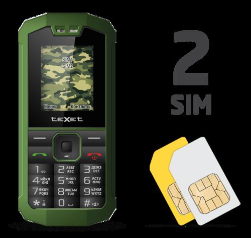 Texet TM-509R (две сим-карты)