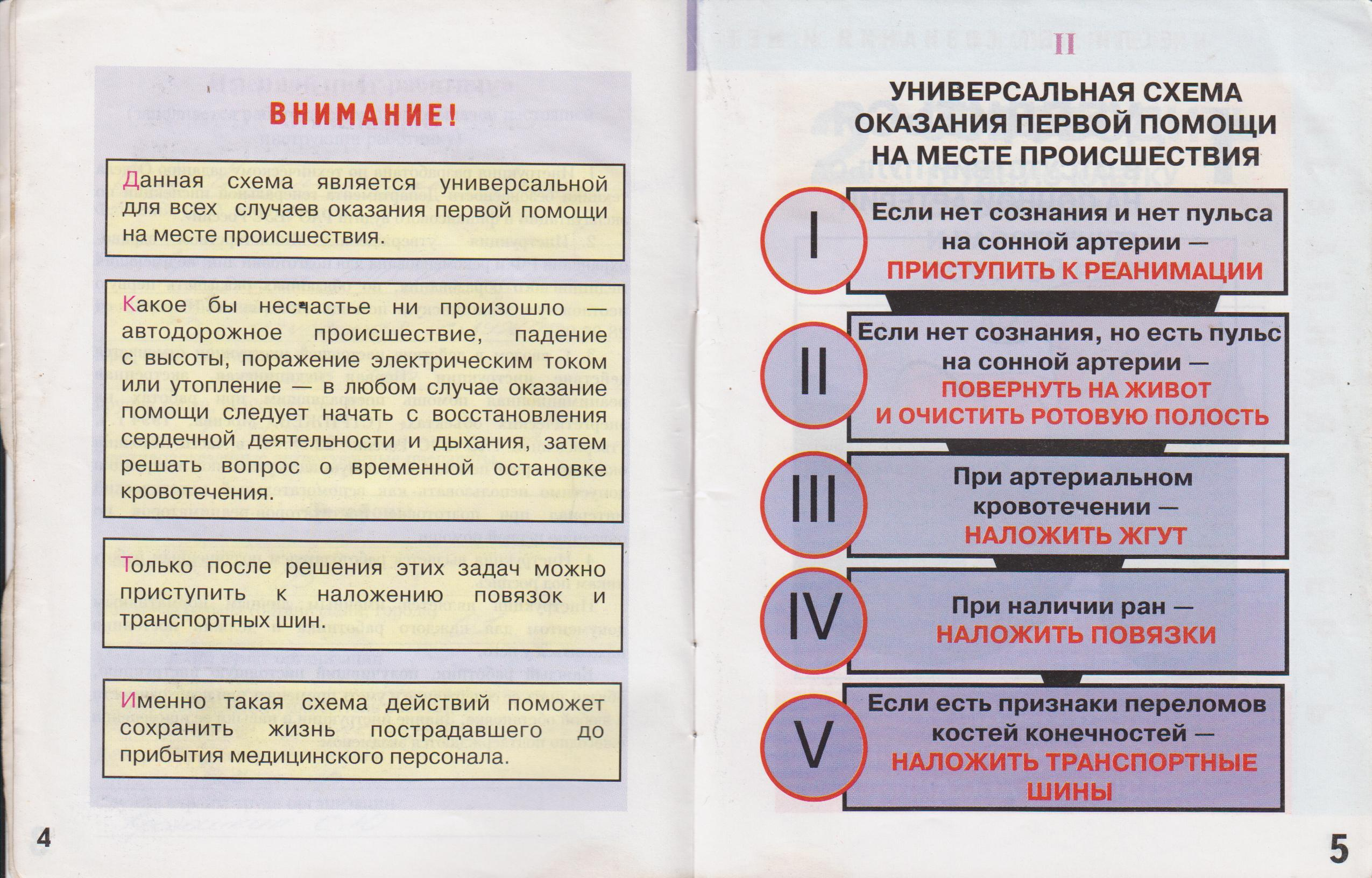 Инструкция по оказанию первой медицинской помощи в офисе