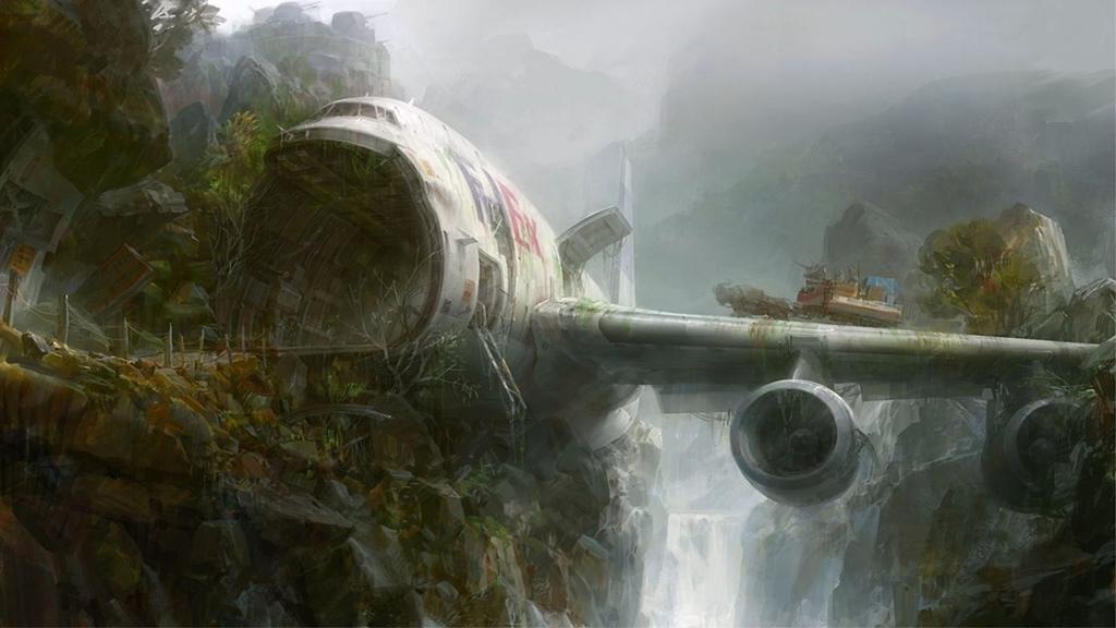 Картинки по запросу deserted island plane crash