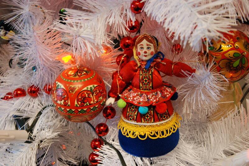 Новогодние интерьеры, самые красивые елочки и потрясающие игрушки!