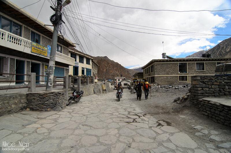 Джомсом, Гималаи, Непал