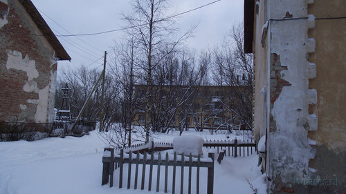 Фото города Инта №2801  Коммунистическая 6, 20 и 5 31.01.2013_13:27