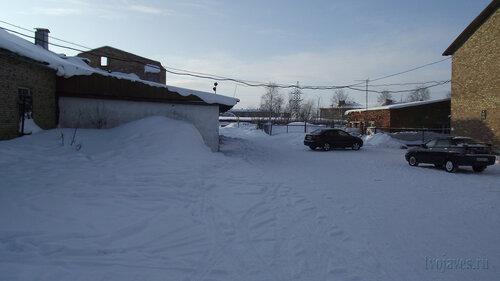 Фотография Инты №3802  Вид в западном направлении, с южной стороны Чернова 6а 19.02.2013_13:06