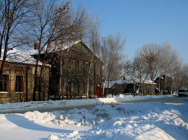 Дом А.М. Савостьянова. 8 февраля 2006 года