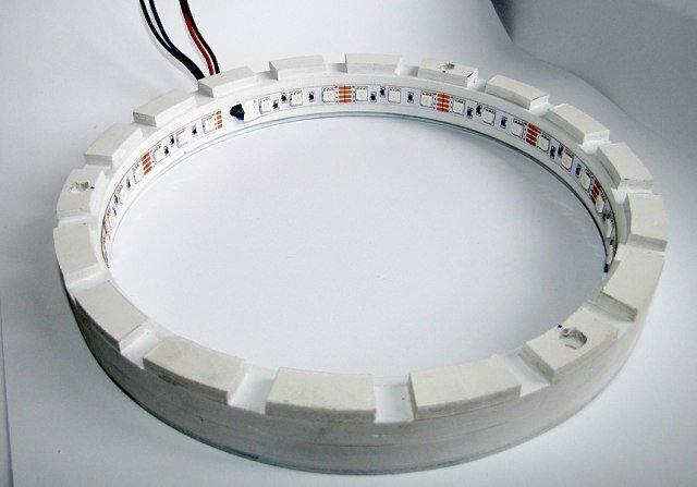 Сделать светильник из светодиодной ленты своими руками 14