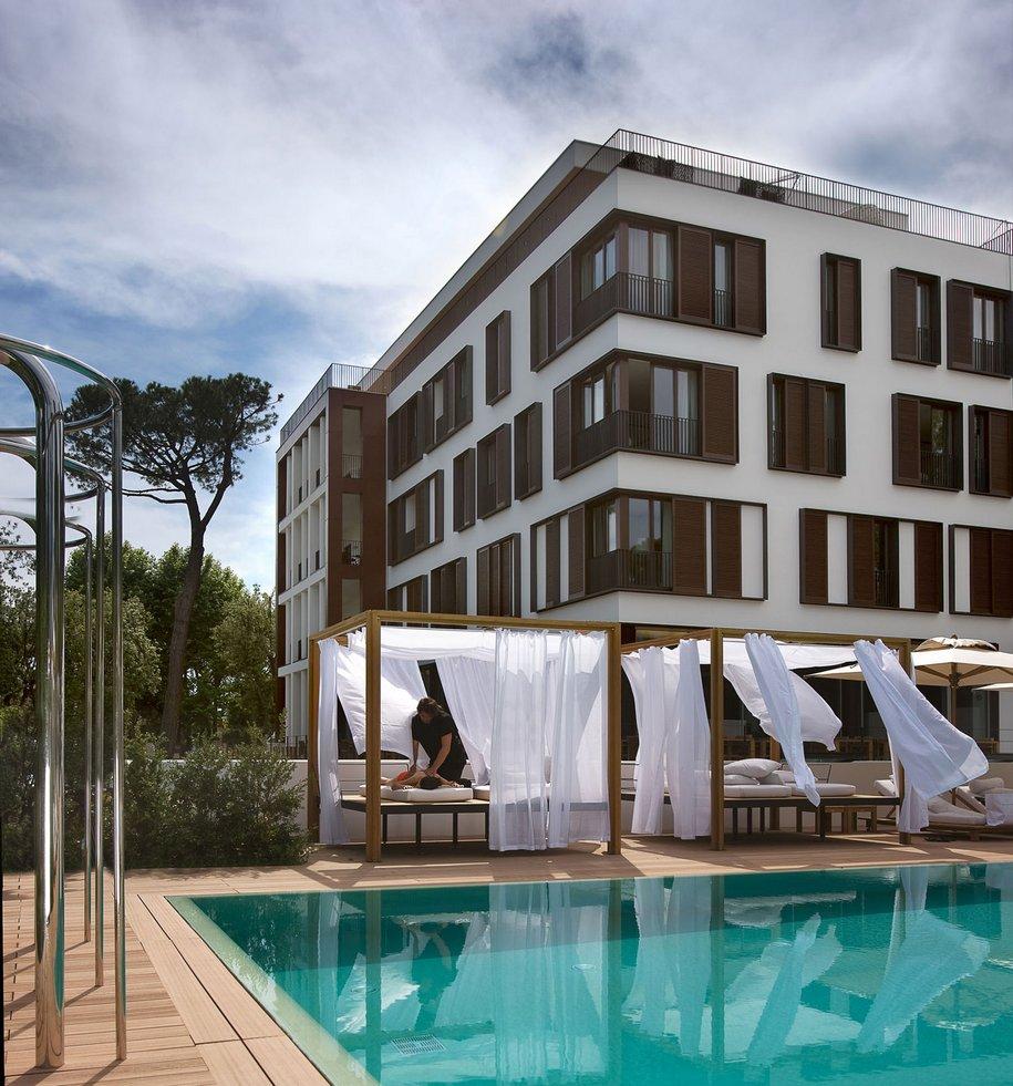Отель Principe Forte dei Marmi на побережье Тоскании