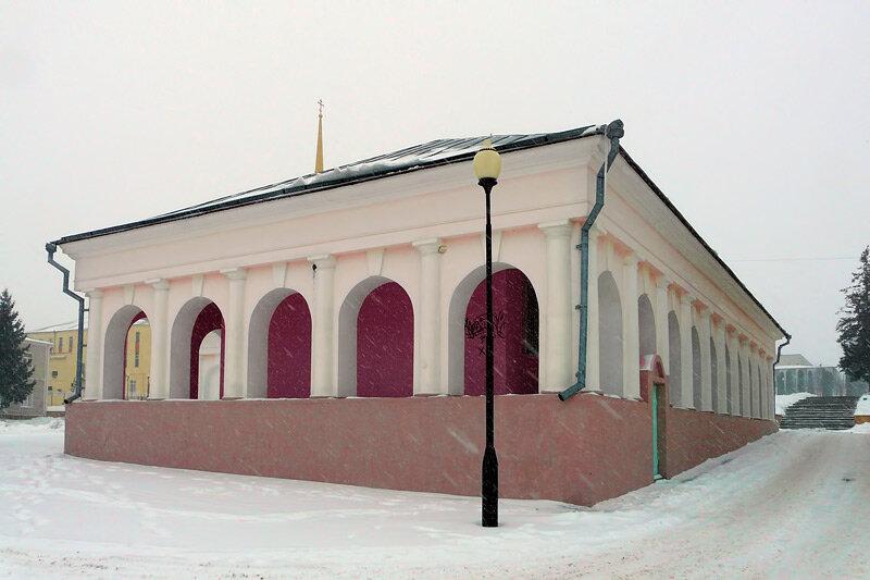 Торговые ряды - ныне краеведческий музей Красногвардейского района