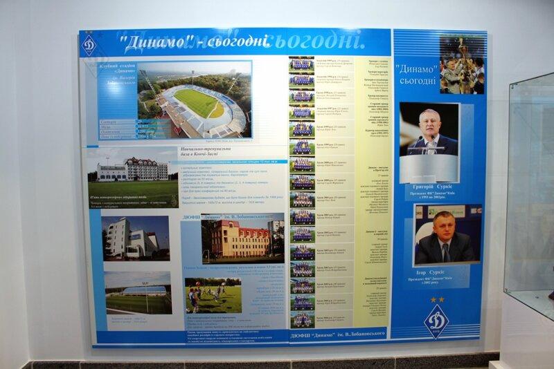 Стенд Динамо - сегодня