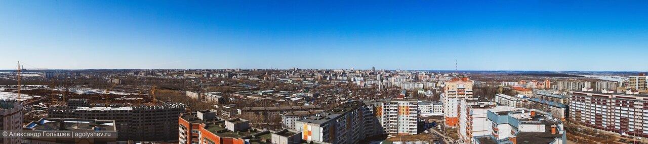 Панорамное фото город Киров