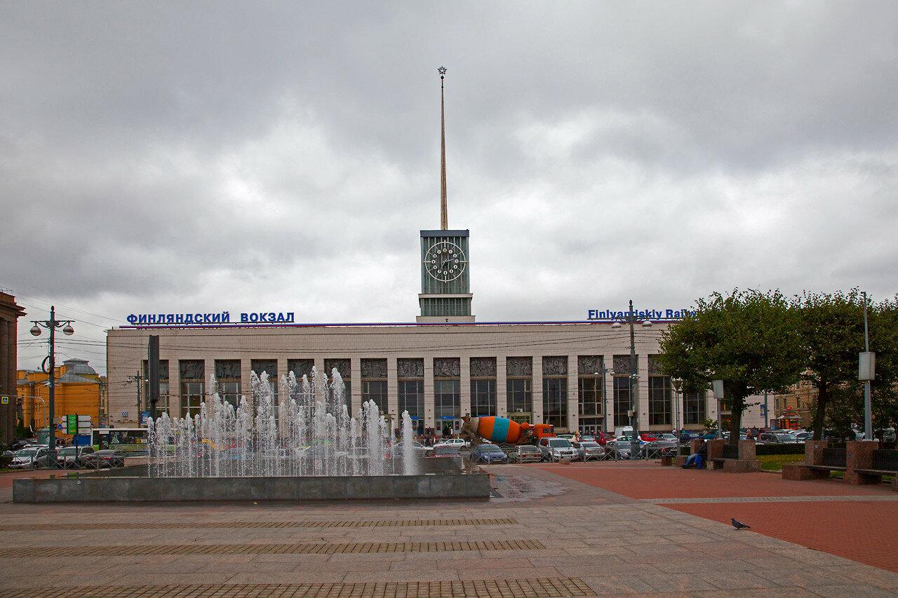 Кладовщик спб финляндский вокзал