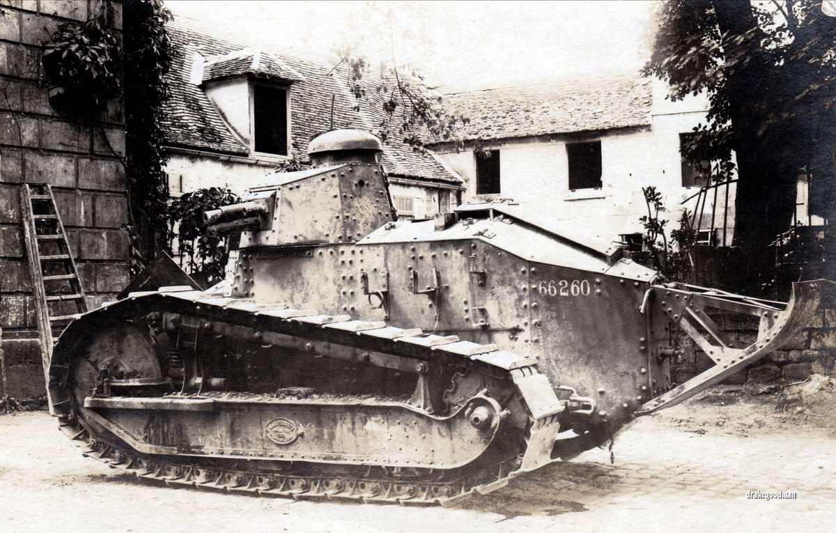 Французский танк Рено FT-17