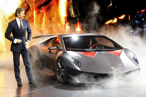 Производство супер автомобиля Sesto Elemento – новой разработки Lamborghini