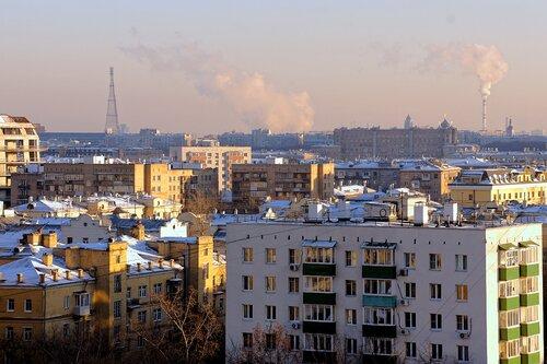 Вид на Шуховскую башню