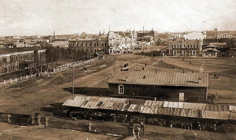 Вид на улицу Большую. 1911 год.